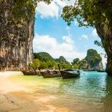 Koh Hong island bay, Andaman Sea - Thailand Stock Photo