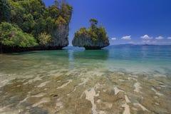 Koh Hong island is famous tour lagoon in andaman sea ,Krabi, Thailand Royalty Free Stock Images