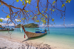 Koh Hong island is famous tour lagoon in andaman sea ,Krabi, Thailand Stock Photography