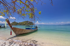 Koh Hong island is famous tour lagoon in andaman sea ,Krabi, Thailand Royalty Free Stock Images