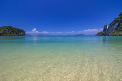 Koh Hong island is famous tour lagoon in andaman sea ,Krabi, Thailand Stock Photos