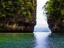 Koh Hong in Krabi-Eiland royalty-vrije stock afbeelding