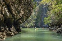 Koh Hong Krabi Thailand. Shoot on cayak Royalty Free Stock Photography