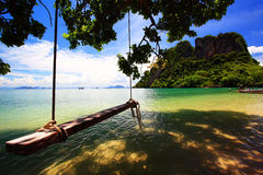 Koh-Hong Nation Park at Thailand stock photo