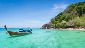 Koh Kai Famous Island Of Thailand Stock Image