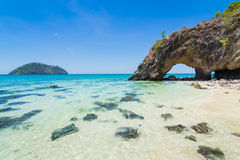 Koh Kai Famous Island Of Thailand Royalty Free Stock Photography