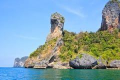 Koh Kai, Island in Andaman sea. Island in Krabi province of Thailand Royalty Free Stock Photography