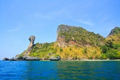 Koh Kai, Island in Andaman sea. Island in Krabi province of Thailand Stock Photo