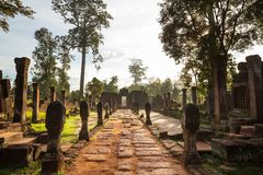 Koh Ker. Ancient  temple Koh Ker,Cambodia Stock Images