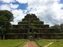 Koh Ker Temple & x28; Prasat Thom & x29; cambodia Provincia di Preahvihear Fotografia Stock Libera da Diritti