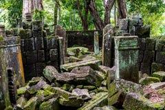 Koh Ker Temple, Siem Reap Cambodia Sep 2015. Stock Image