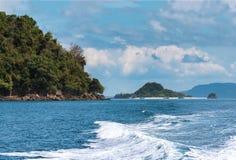 Koh Khai на пути к острову Lipe, Satun Стоковая Фотография RF