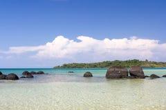 Koh Kham Beach und tropisches Meer Thailand stockbilder