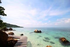 Koh Kham, isola di Kham Fotografia Stock Libera da Diritti