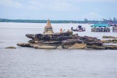 KOH KONG PROVINCIE in Kambodja Royalty-vrije Stock Fotografie