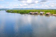 Koh kong provincie in koninkrijk van Kambodja dichtbij de grens van Thailand Stock Foto's