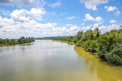 Koh kong province in kingdom of cambodia near thailand border Royalty Free Stock Images