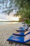 KOH KONG wit strand in koh kong PROVINCIE in Kambodja Stock Foto's