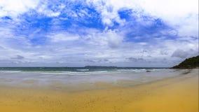 Koh Lan Beach Arkivfoton
