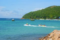 Koh-lan, Pattaya, Chonburi, Thailand Stock Photos
