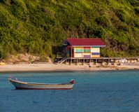 Koh Lan, Thailand. View of the amazing Samae Beach in Koh Lan island, the popular tropical paradise, right in front of Pattaya Stock Photography