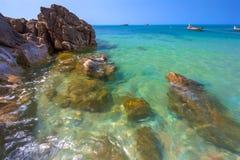 Koh Lanta island coast, Krabi, Thailand. stock photography