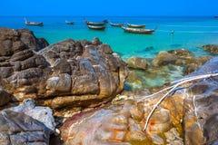 Koh Lanta island coast, Krabi, Thailand. royalty free stock photos
