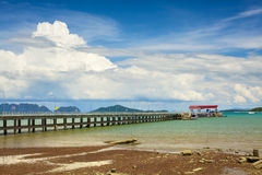 Koh Lanta Pier Stock Photography