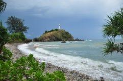 Koh Lanta w padać chmurną Krabi prowincję Tajlandia Zdjęcia Stock