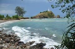 Koh Lanta w padać chmurną Krabi prowincję Tajlandia Obrazy Stock