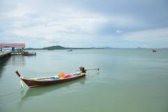 Koh Lanta, wenn bewölkte Krabi-Provinz Thailand geregnet wird Stockfotos