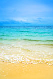Идилличный Koh Larn пляжа сцены, Стоковое фото RF