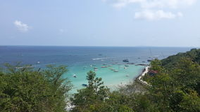 Koh larn bay chonburi thailand Royalty Free Stock Photos