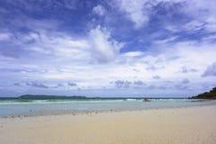 Koh Larn Beach Arkivbild