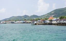 Coastal Village Royalty Free Stock Photo