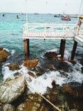 Koh Larn em Tailândia fotografia de stock