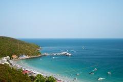 KOH larn Insel-Pattaya-Stadt Thailand Lizenzfreies Stockbild