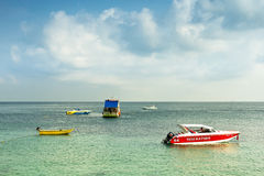 Koh Larn island, Pattaya Thailand  March 2012: The Royalty Free Stock Photography