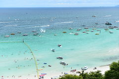 Koh Larn island tropical beach,the most famous island  of pattaya city Stock Images