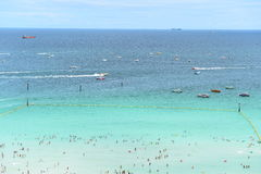 Koh Larn island tropical beach,the most famous island  of pattaya city Stock Photos