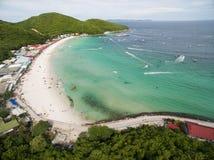 Koh Larn island tropical beach,the most famous island  of pattaya city Stock Image