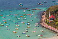Koh Larn island tropical beach in Pattaya city, Chonburi Thailan Stock Photography