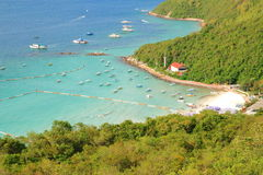 Koh Larn island tropical beach in Pattaya city Stock Image