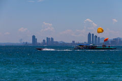 Koh Larn ,Pattaya ,Thailand. Landscapes > Water > Seas and Oceans Royalty Free Stock Photos