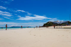 Koh Larn ,Pattaya ,Thailand. Seas and Oceans Stock Images