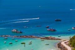 Koh Larn ,Pattaya ,Thailand. Seas and Oceans Royalty Free Stock Image