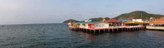 Koh larn seaside resort Royalty Free Stock Photo