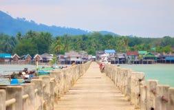 Koh Libong Pier Royalty Free Stock Photo