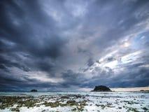 νεφελώδες koh νησιών lipe πρωί Ταϊλάνδη Στοκ Εικόνες