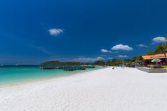 Koh Lipe, Satun Province,Thailand. Beautiful beach and blue sky at  in Andaman Sea Tarutao national park and Koh Lipe Satun ProvinceThailand Royalty Free Stock Images
